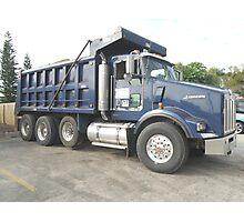 Dump Truck Photographic Print