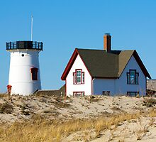 Hardings Beach Lighthouse by Christopher Seufert