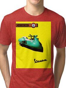 Vespa cool Tri-blend T-Shirt