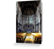 St. Mary RC Church Fleetwood Greeting Card