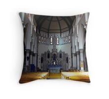 St. Mary RC Church Fleetwood Throw Pillow