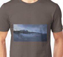 Crossing the wall. Unisex T-Shirt