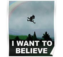 I Want To Belive (Leprechaun) Poster