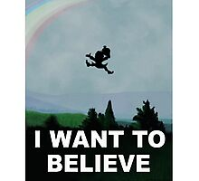 I Want To Belive (Leprechaun) Photographic Print