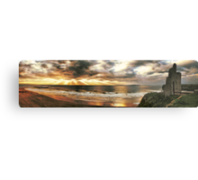 The Men's Strand - Ballybunion Metal Print
