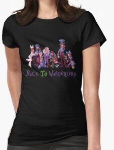 Back to Wonderland Womens Fitted T-Shirt