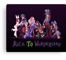 Back to Wonderland Canvas Print