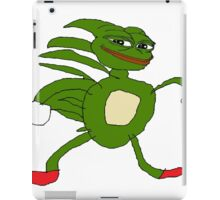 Sanic Pepe iPad Case/Skin