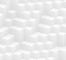 white cubes design by bobstudio