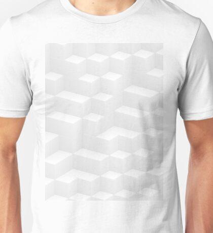 white cubes design Unisex T-Shirt