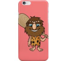 cave man iPhone Case/Skin