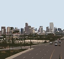 Denver at a distance by shuttermonkey