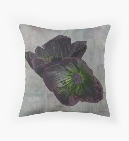 PURPLE PUPS Throw Pillow