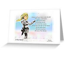A True Patriot Greeting Card
