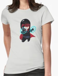 baby magneto (from x-men) Womens Fitted T-Shirt