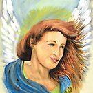 Joyous Angel II by WildestArt