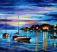 Mystery Of The Night — Buy Now Link - www.etsy.com/listing/128519482 by Leonid  Afremov