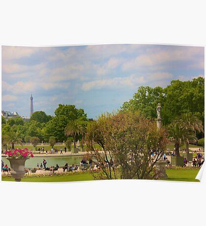 Paris, Jardin du Luxembourg Poster