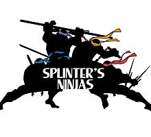 Splinter's Ninjas. by J.C. Maziu