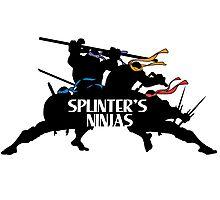 Splinter's Ninjas. Photographic Print