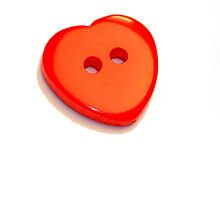 Red Button Heart by Andrew Moughtin-Mumby