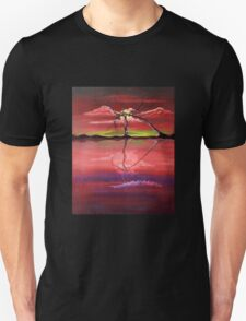 Original Pink landscape by ANGIECLEMENTINE T-Shirt