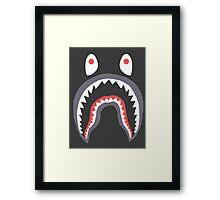 Bape Shark Framed Print