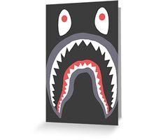 Bape Shark Greeting Card