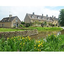 Lower Slaughter Village Photographic Print