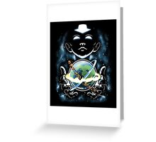 Whole World in His Hands Greeting Card