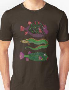 three ugly fish Unisex T-Shirt