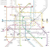 Mexico metro map by Jug Cerovic