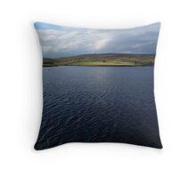 March Ghyll Reservoir Throw Pillow