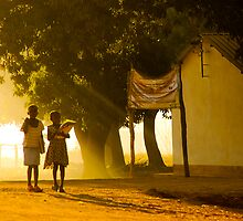 Heading to School, Mozambique by Tim Cowley