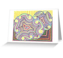 Cloudy Chaos Greeting Card