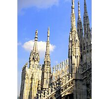 One of the Best Italian Gothic master-piece : Duomo di Milano  Photographic Print