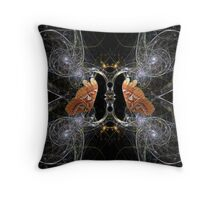 Butterly Palace Throw Pillow