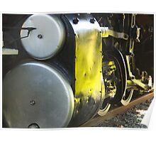 Antique Engine Poster