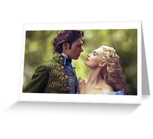 Cinderella and the Prince Greeting Card