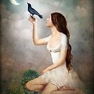 The Moon Asked The Crow by ChristianSchloe