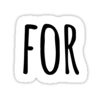 will work for concert tickets Sticker