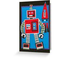 Rocket's Robot Greeting Card