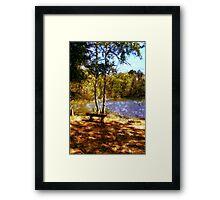 Peaceful Interlude Framed Print