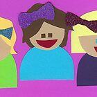 Friends and Bows by Lisa  McHugh