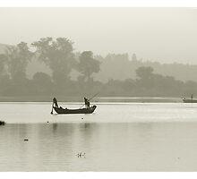 Niger river, Mali #2 by Mauricio Abreu