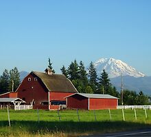 Rainier and Enumclaw Farm by RavenFalls