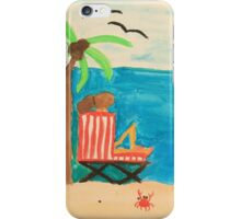Afternoon at the Beach iPhone Case/Skin