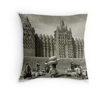 Djenné, Mali #25 Throw Pillow