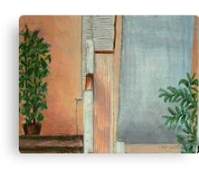 Under The Stairs Canvas Print