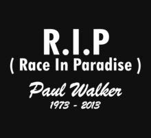 RIP - Race In Paradise - Paul Walker by rtecollection